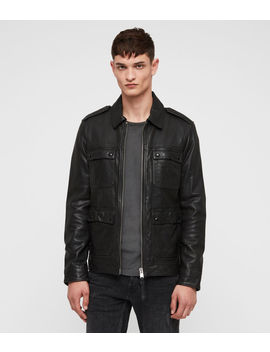 Kage Leather Jacket by Allsaints