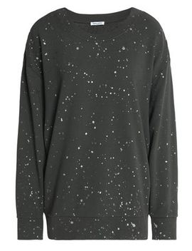 Painted French Cotton Terry Sweatshirt by Splendid