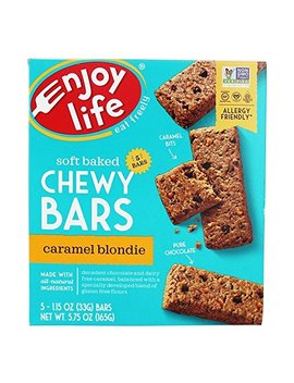 Enjoy Life Foods Baked Chewy Bars Caramel Blondie 5 Bars 1 15 Oz 33 G Each by Enjoy Life Foods