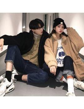 Bienvenu   Couple Matching Fleece Zip Jacket by Bienvenu
