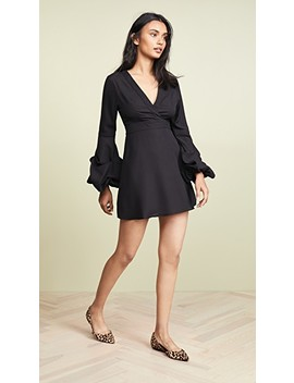 Bishop Sleeve Mini Dress by Valencia & Vine