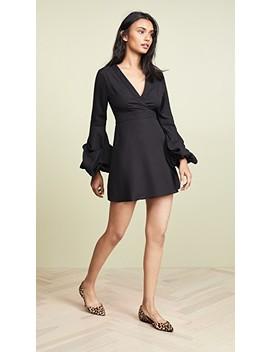 Bishop Sleeve Mini Dress by Valencia & Vine