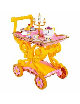 Disney Beauty And The Beast ''be Our Guest'' Singing Tea Cart Play Set No Color by Disney