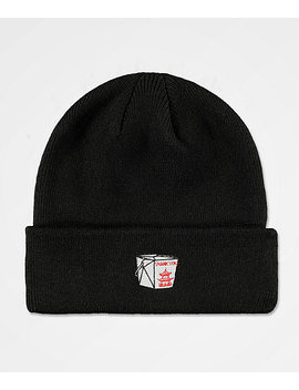 The Forecast Agency Takeout Black Beanie by The Forecast Agency