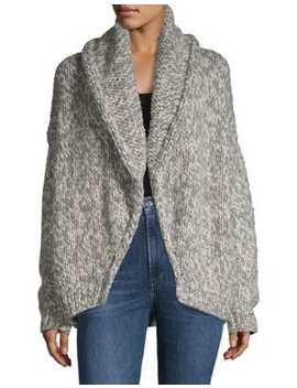 Alexandra Wool Cardigan Sweater by Line