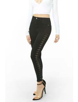 Momokrom Lace Up Jeans by Forever 21