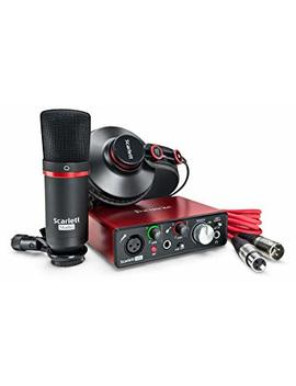 Focusrite Scarlett Solo Studio (2nd Gen) Usb Audio Interface And Recording Bundle With Pro Tools | First by Focusrite