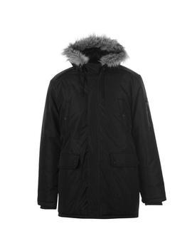 Long Parka Jacket Mens by Fabric