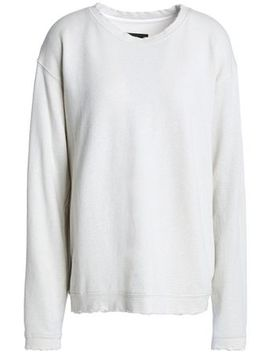 Beale French Cotton Blend Terry Sweatshirt by Rta