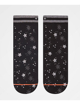 Stance Shine Time Black Ankle Socks by Stance