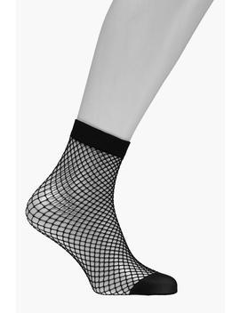 Knöchellange Netzstrümpfe Mit Mittelgroßem Netzlochmuster by Boohoo