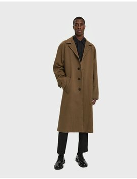 Diagonal Overcoat by Marni