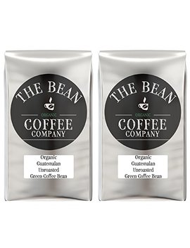 The Bean Coffee Company Organic Unroasted Green Coffee Beans, Guatemalan, 16 Ounce Bags (Pack Of 2) by The Bean Coffee Company