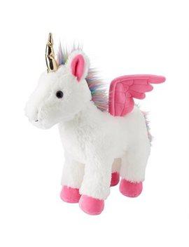 Indigokids Plush Animal Unicorn Wings Rainbow Fur Large by Indigo Kids