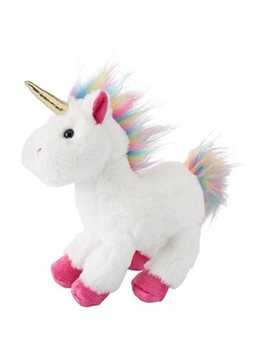 Indigokids Plush Animal Unicorn Rainbow Fur Medium by Indigo Kids