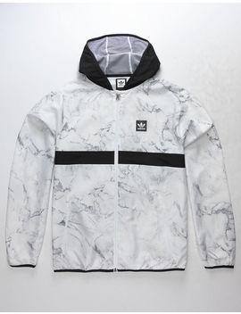 Adidas Marble Bb Packable Mens Windbreaker Jacket by Adidas
