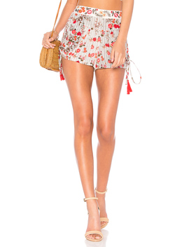 Primrose Drawstring Short In Multi by Raga