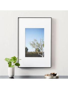 Oversized Gallery Frame   Matte Black by West Elm