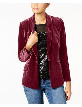 I.N.C. Petite Velvet Blazer, Created For Macy's by Inc International Concepts