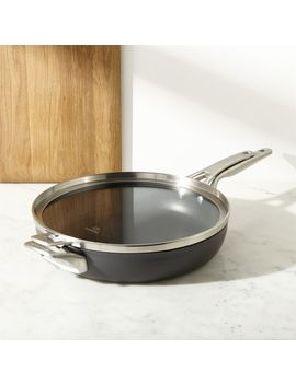 "Calphalon ® Stackable 12"" Fry Pan With Cover by Crate&Barrel"