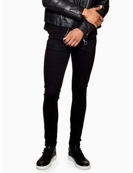 Black Spray On Jeans by Topman
