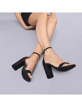 Voy Glitter Heels by Koi Footwear