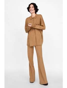 Camisa Polo Oversize  Última Semanamulher by Zara