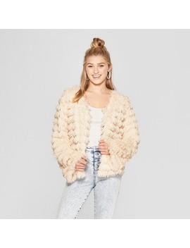Women's Fringe Faux Fur Jacket   Xhilaration™ by Xhilaration