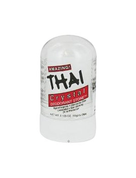 Thai 100 Percents Natural Crystal Deodorant Stick, Mini Travel Size (2.125 Ounces) by Thai Natural Crystal Deodorant