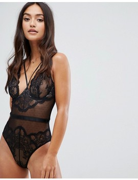 Peek & Beau Kristal Lace & Dot Mesh Body by Peek & Beau