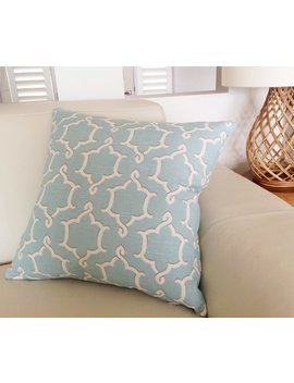 Duck Egg Blue Cushions, Robin Egg Blue,  Linen Pillows, Ivory Scatter Cushions Decorative Pillows Coastal, Urban. Cover Only by Etsy