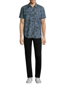 Printed Short Sleeve Shirt by John Varvatos