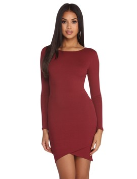 Time For Wine Knit Dress by Windsor