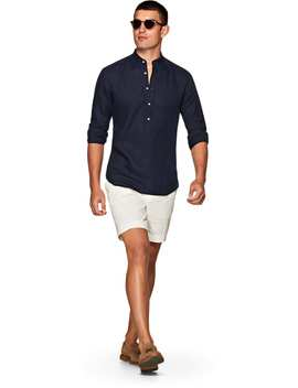 Navy Popover by Suitsupply