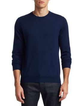 Collection Crewneck Lightweight Cashmere Sweater by Saks Fifth Avenue