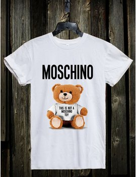Moschino Bear Youth& Adult Unisex T Shirt by Etsy