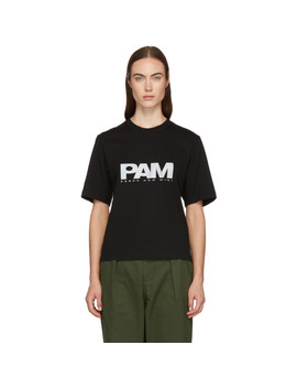 Black Reflective Logo T Shirt by Perks And Mini