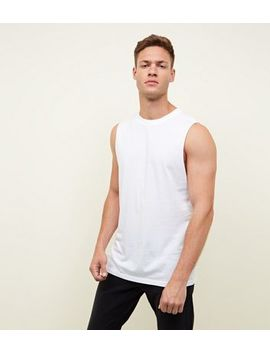 White Tank Top by New Look