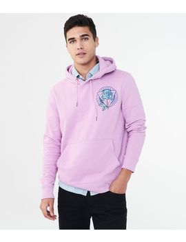 Watercolor Rose Pullover Hoodie by Aeropostale
