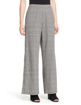 Side Snap Menswear Pants by Lush