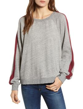 Varsity Stripe Sweatshirt by Splendid