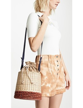 Basket Bucket Bag by Lucy Folk