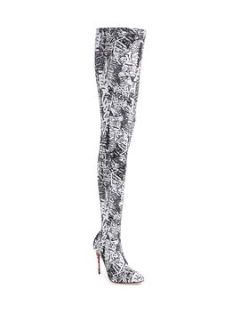 Gravitissima Thigh High Boot by Christian Louboutin