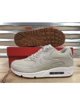 Wmns Nike Air Max 90 Prm Running Shoes Light Bone White Gum Sz ( 896497 001 ) by Nike