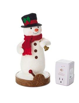 Hallmark Musical Tree Lighting Snowman And Receiver by Hallmark