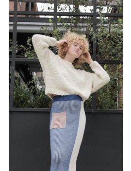 Kordal Textured Sweater   Cream by Garmentory