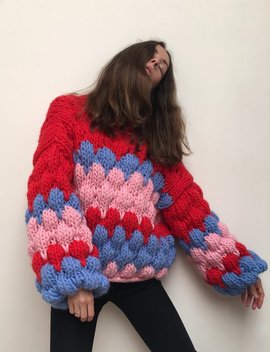 The Knitter Ugly Jumper by Garmentory