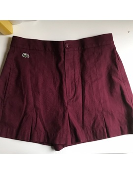 High Waisted Shorts by Lacoste