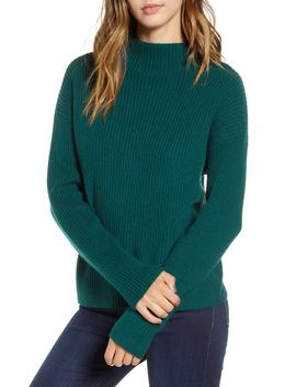 Ribbed Funnel Neck Sweater by Bp.