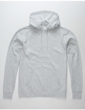 Independent Trading Company Grey Mens Hoodie by Independent Trading Company